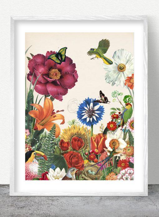 silent spring art print by valero doval