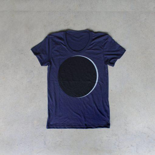 womens eclipse t shirt by blackbird trading co