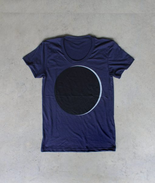 womens eclipse t shirt by blackbird trading co
