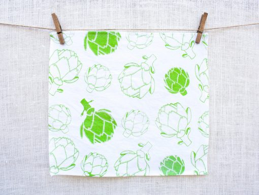 artichoke napkin set pop shop america handmade