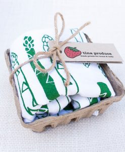 asparagus napkin set pop shop america