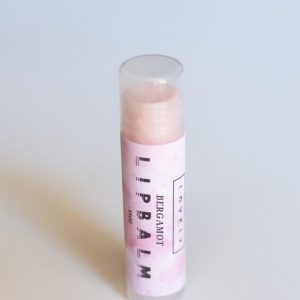 bergamot fruit lip balm by lovely handcrafted beauty products