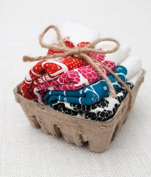 berry napkin set by tinas produce