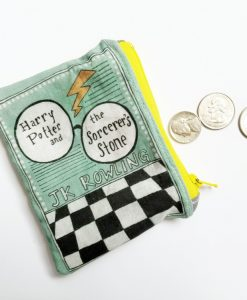 book coin purse harry potter and the sorcerer's stone_web