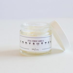 creamy handmade tea tree body butter lovely texas skincare