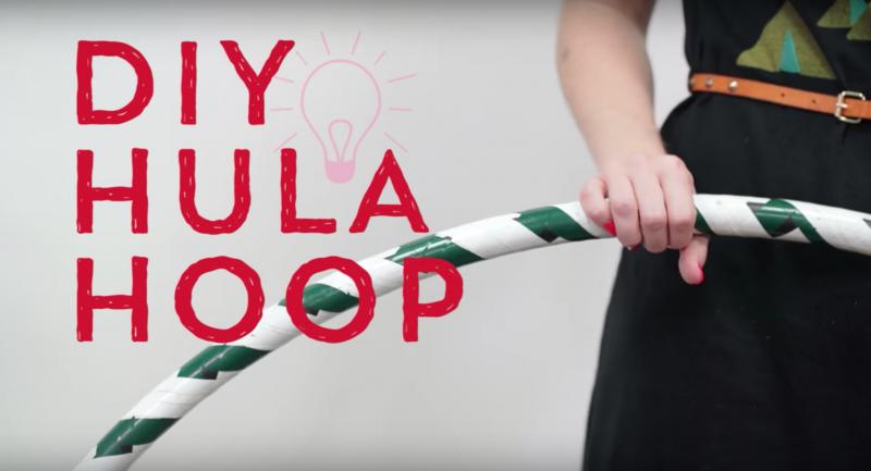 diy hula hoop tutorial by pop shop america