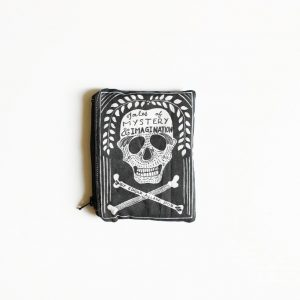 edgar allen poe book purse coin purse