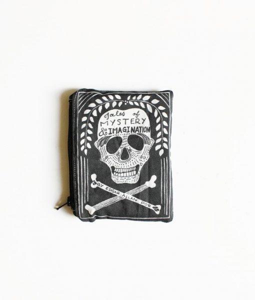 edgar allen poe book purse coin purse