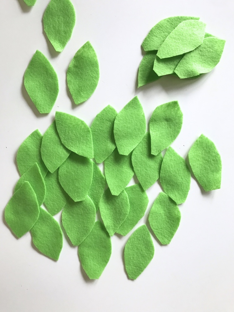 leaf garland cut up leaves pop shop america