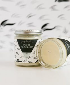 soy wax scented candle sweet wilderness handcrafted in memphis tennessee