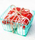 strawberry tea towel packaged pop shop america