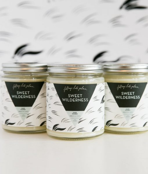sweet wilderness candle by falling into place memphis tn
