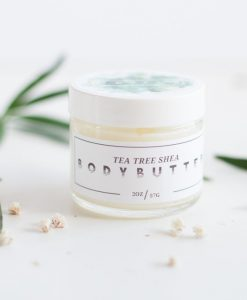 tea tree shea body butter handmade pop shop america