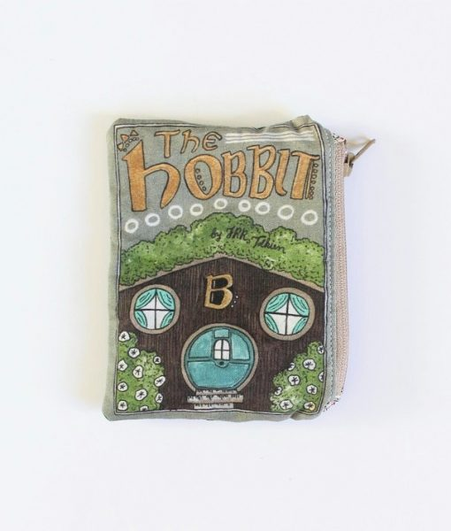 the hobbit book coin purse