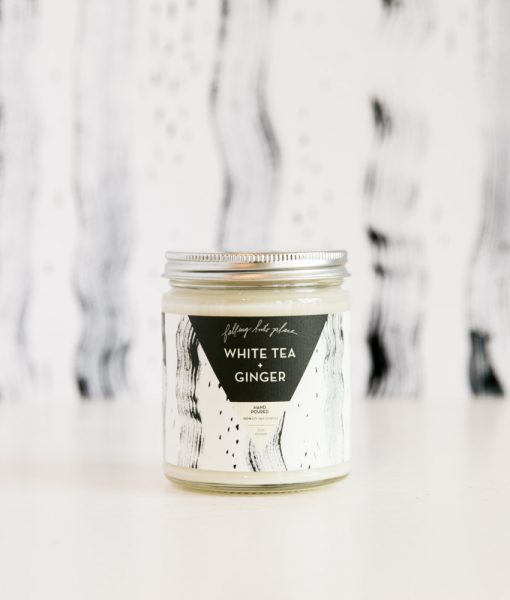 white tea + ginger candle shop home goods at pop shop america