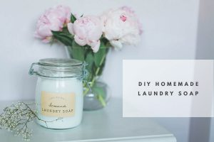 How To Make DIY Homemade Laundry Soap + Free Printable Labels