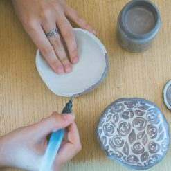 Decorating DIY Jewelry Plates