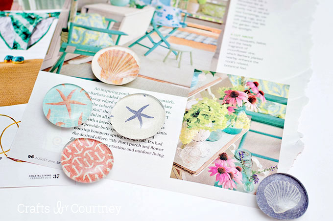 Mod-Podge-Magnets- diy magnets pop shop america crafts blog