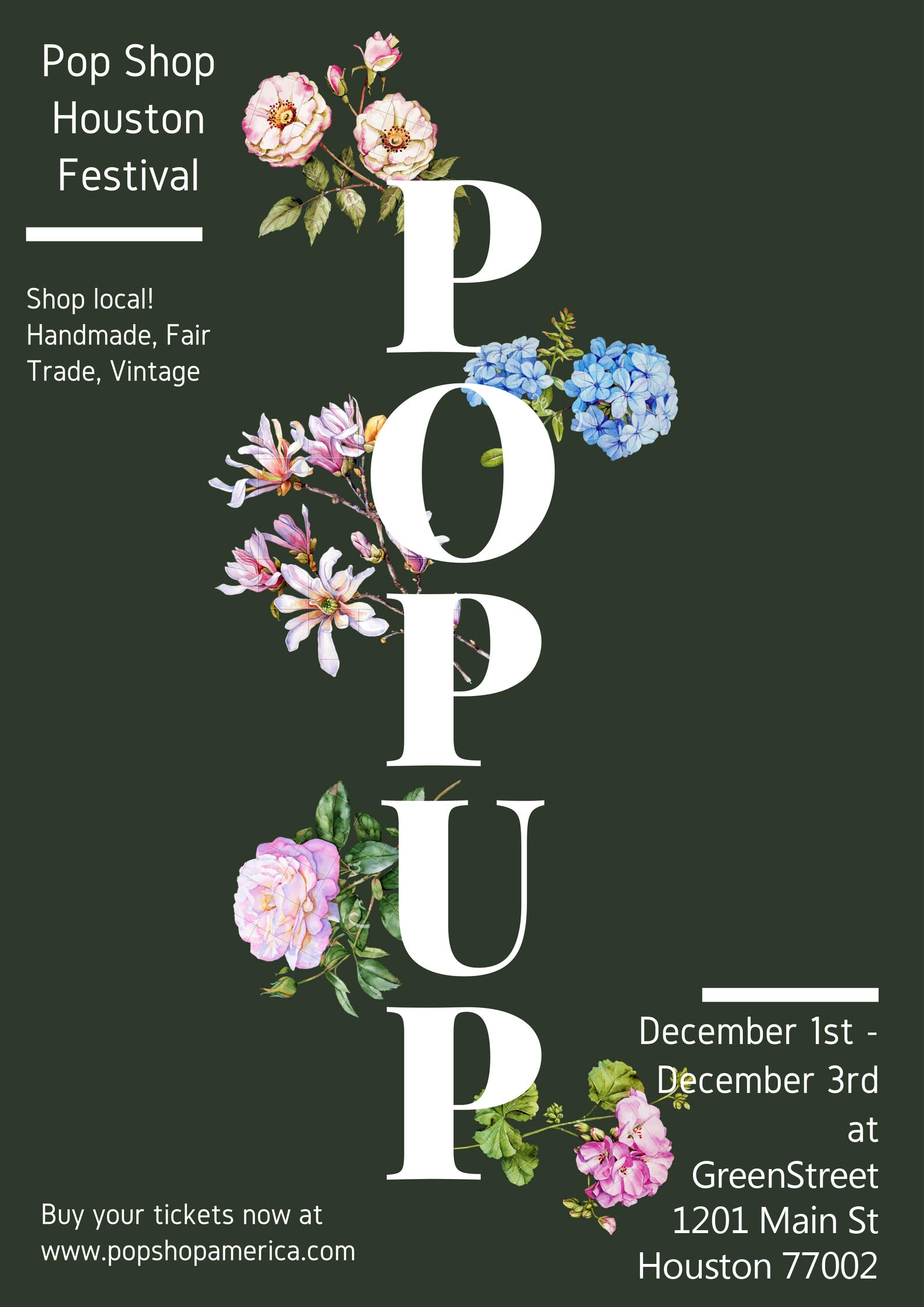 Pop Up by Pop Shop Houston Holiday Market 2017