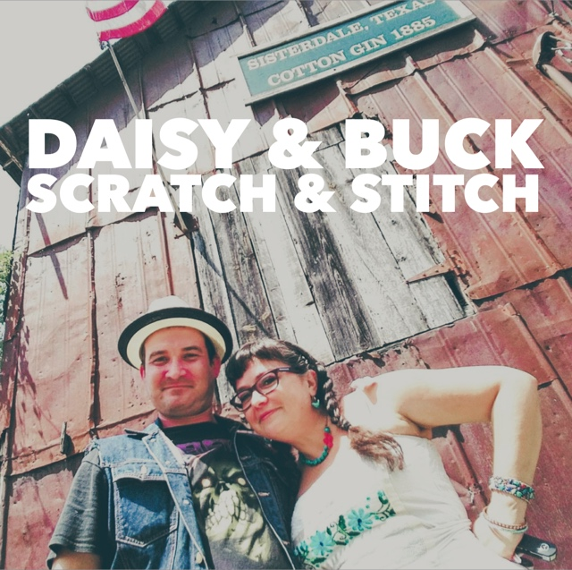 daisy and buck scratch and stitch at pop shop san antonio