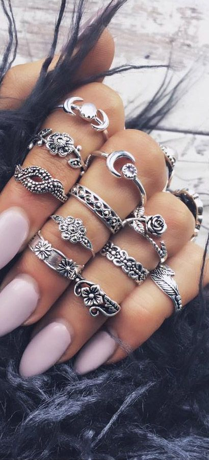 layered boho rings how to layer jewelry pop shop america