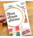 3 simple stitches embroidery book by sublime stitching