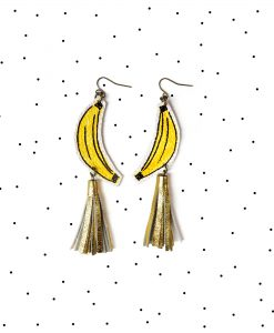 Banana_Earrings__Gold_Tassel_Earrings__Fruit_Earrings__Yellow_and_Gold_Earrings__Pop_Art_Earrings__Statement_Earrings_6