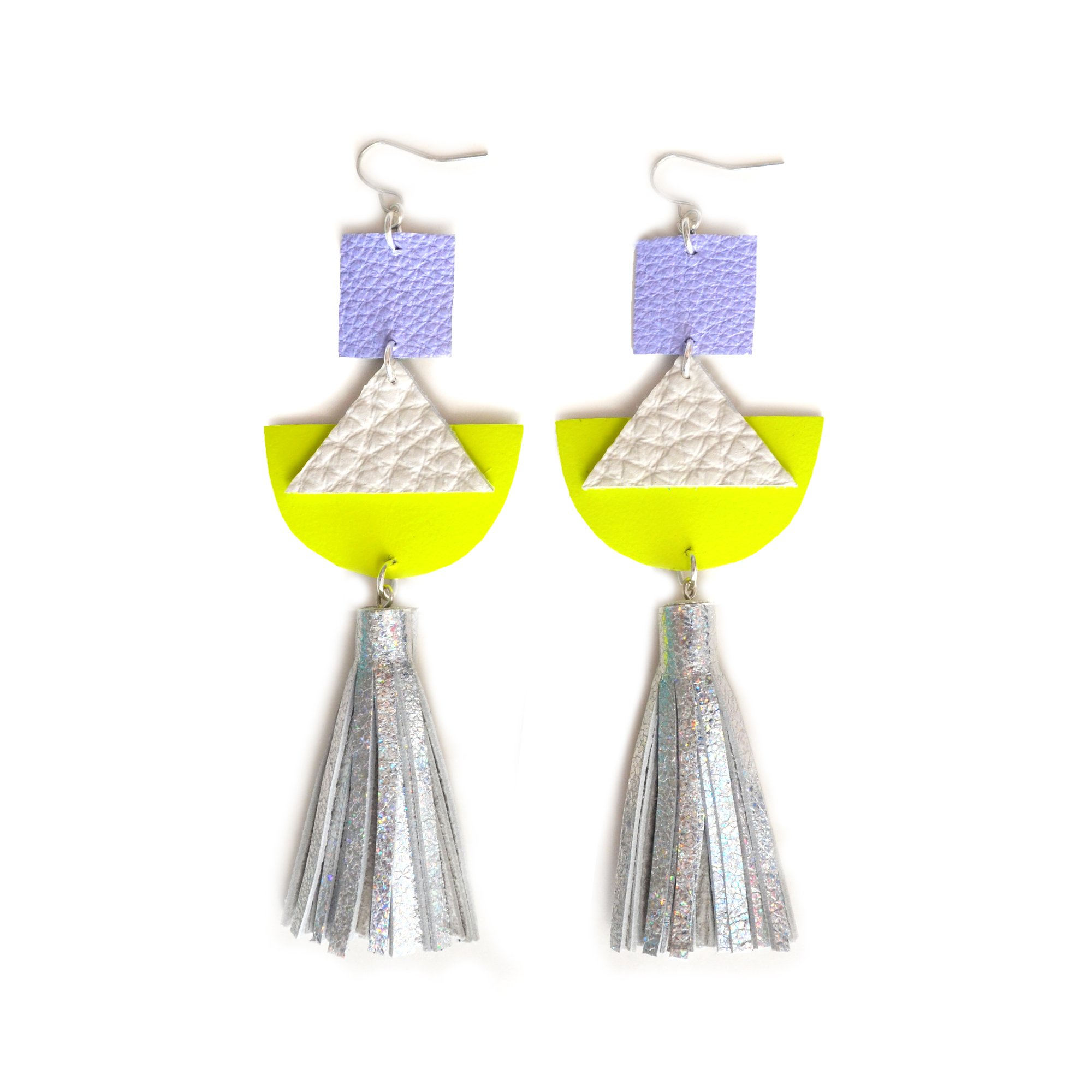 geometric me illuminated three sharon llc earrings by hanging herrick products