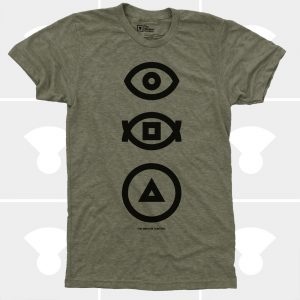 bauhaus transitions t-shirt medium control symbols t-shirt