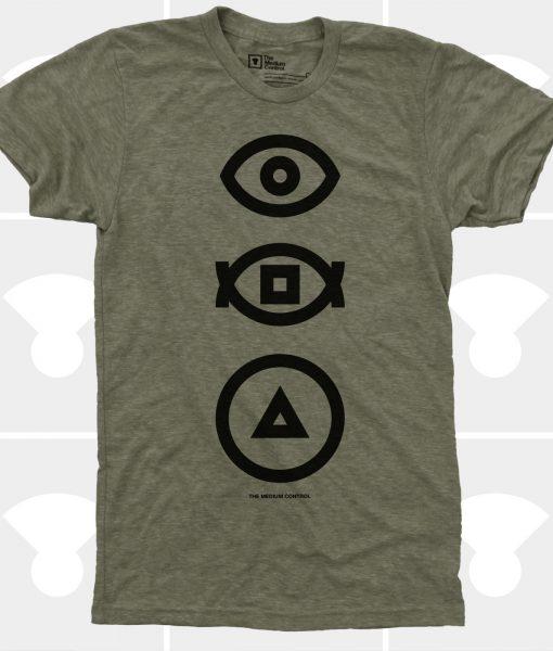 bauhaus transitions t-shirt medium control symbols t-shirt