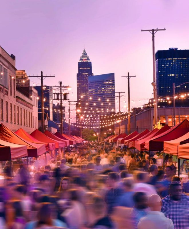 cleveland night market outdoor festival