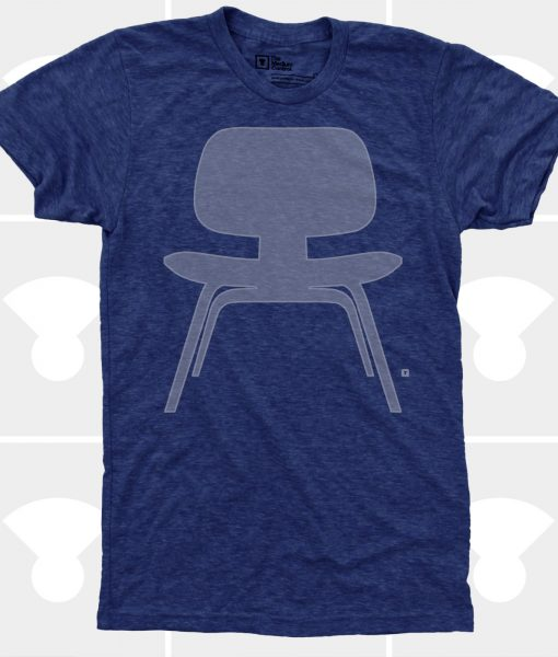 eames chair t-shirt men's handmade t-shirts by medium control