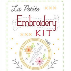 petite embroidery kit by sublime stitching