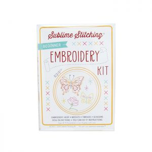 petite embroidery kit by sublime stitching diy kits