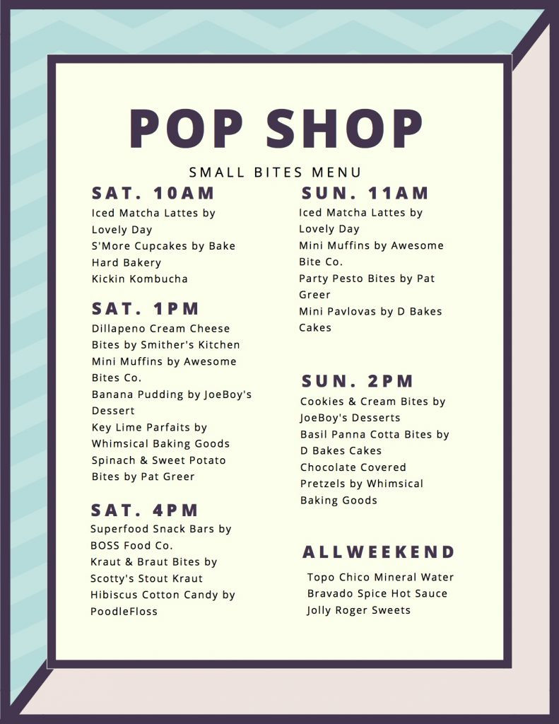 pop shop summer 2017 small bites menu jpg