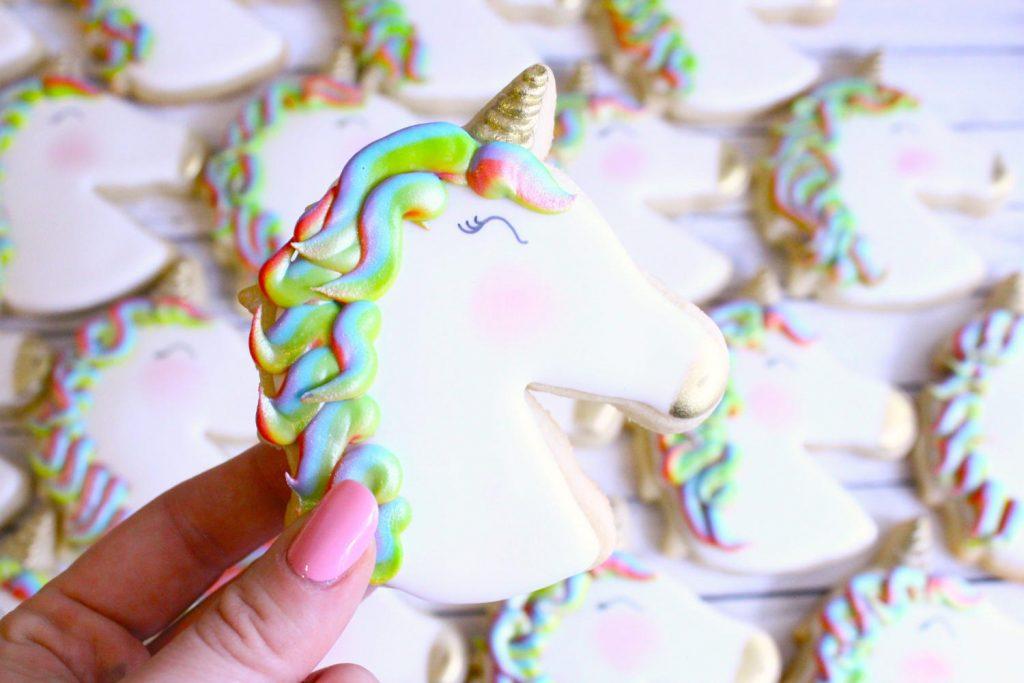 unicorn cookies bake hard bakery - pop shop america