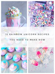15 magical unicorn recipes rainbow food recipes