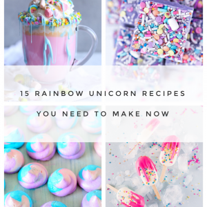 15 magical unicorn recipes rainbow food recipes