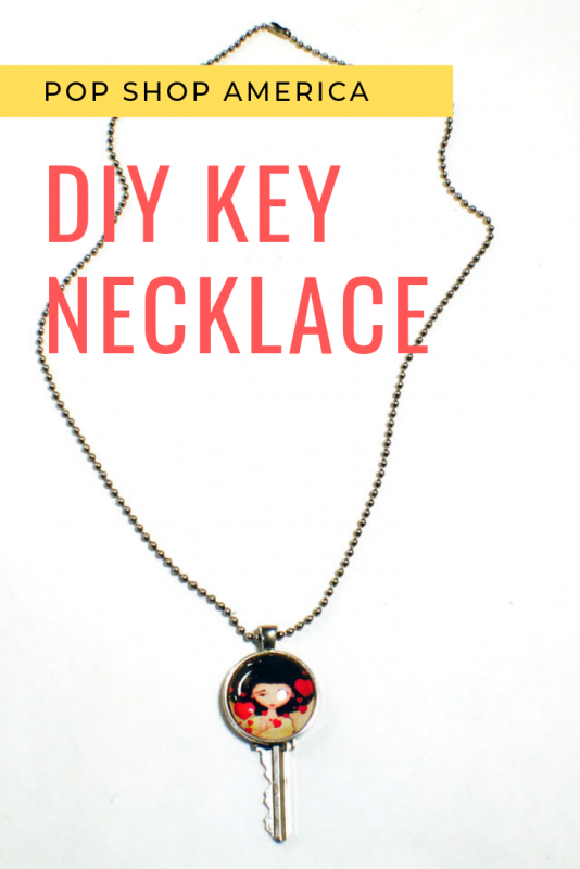 DIY Key Necklace with Jessica Von Braun Pop Shop America