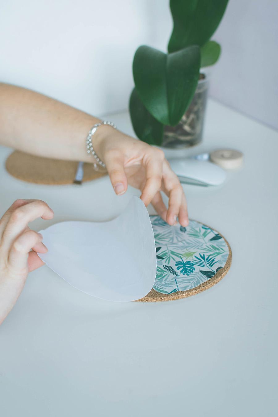 DIY Pattern Mouse Pad Tutorial Step 3