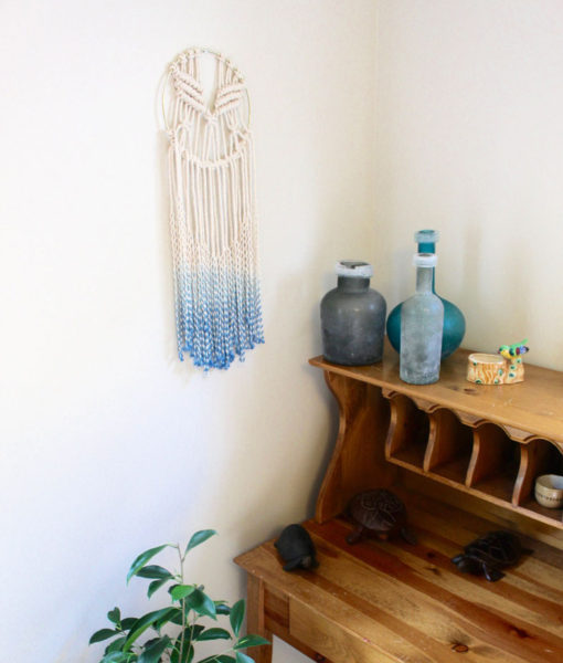 blue-and-cream-ombre-dip-dyed-macrame-wall-art
