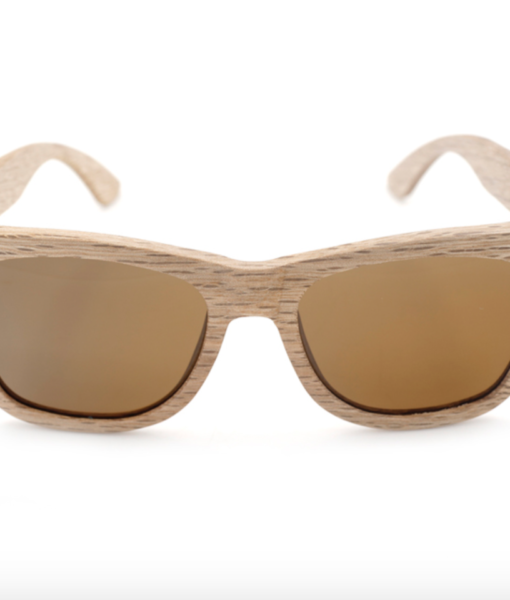 brown lens bamboo wood sunglasses