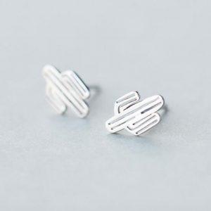 cactus-earrings-stud-earrings