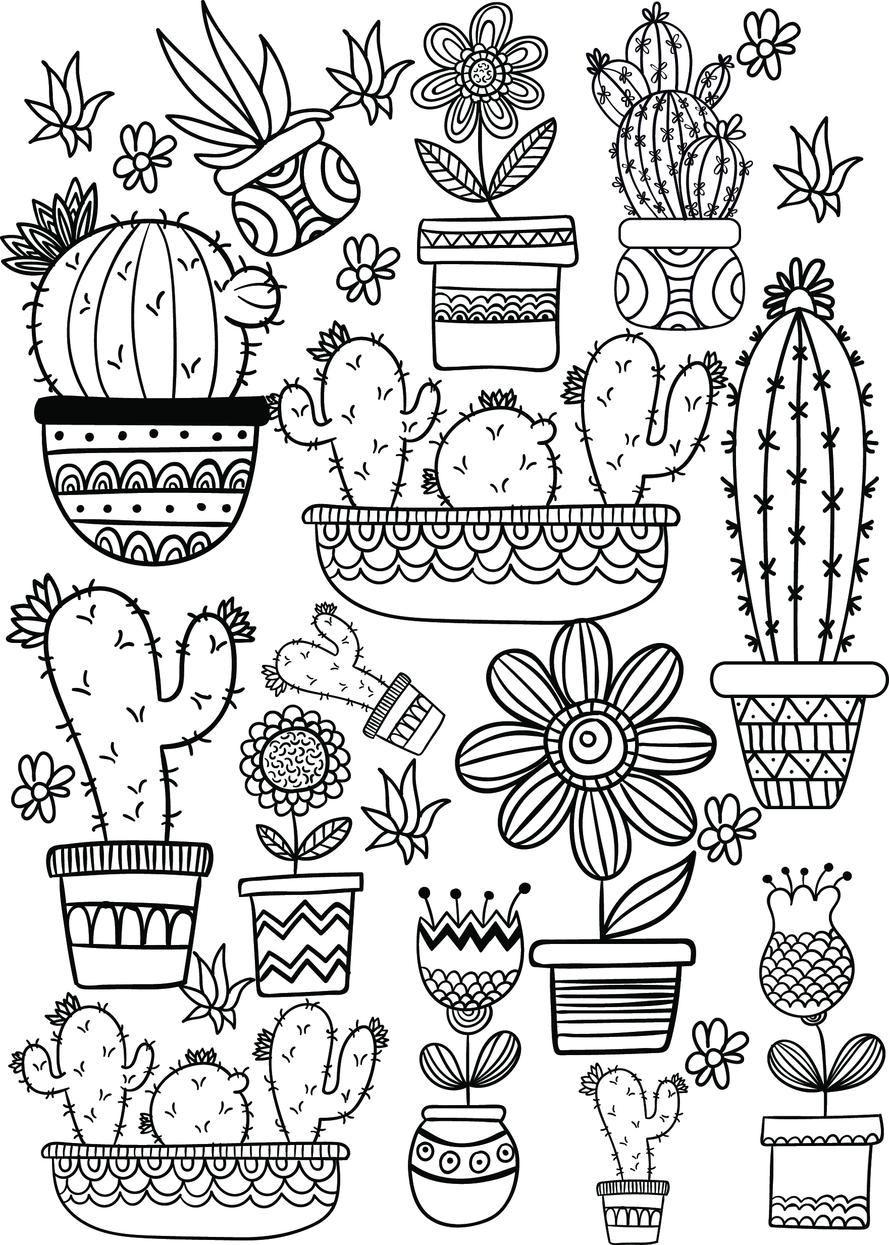Cactus and Succulent Printable