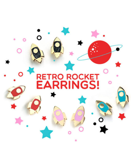 retro-rocket-stud-earrings-in-22k-gold