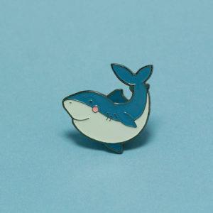 shark-enamel-pin-by-luxcups-austin-tx