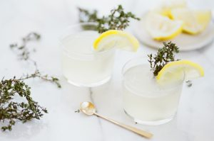 Summer Sun – Lemon Thyme Cocktail Recipe