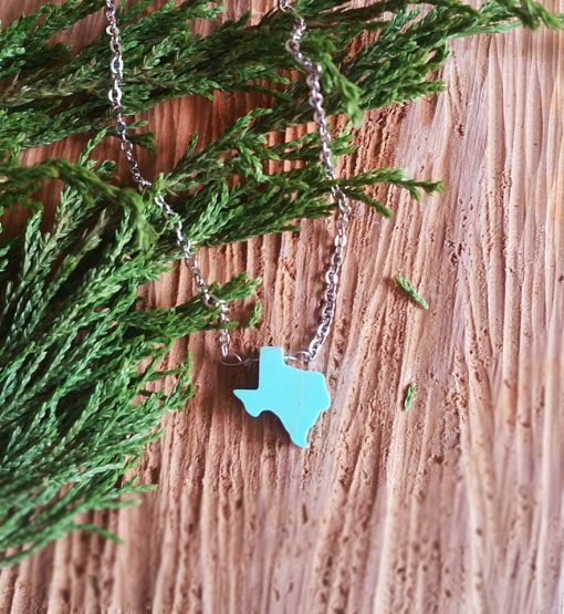 turquoise-necklace-texas-state-necklace