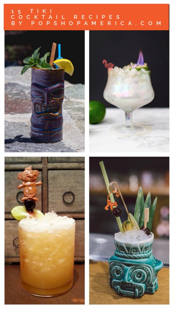 15 tiki cocktail recipes that make summer fun