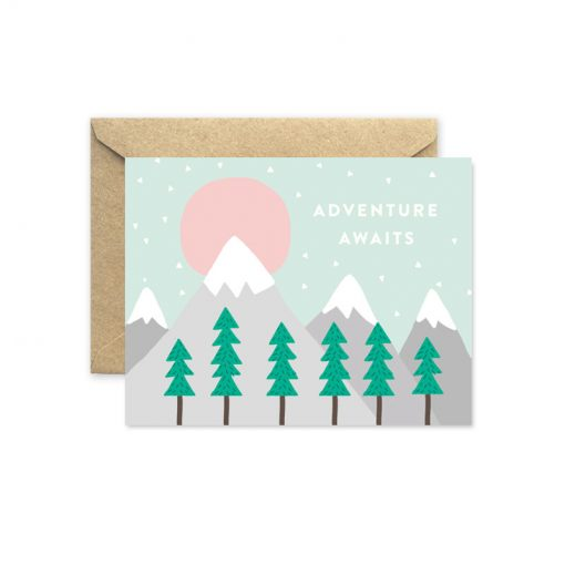 adventure awaits greeting card pop shop america